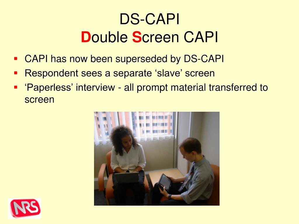 DS-CAPI