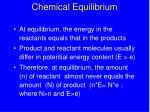 chemical equilibrium24
