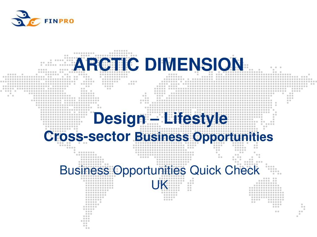 arctic dimension design lifestyle cross sector business opportunities l.