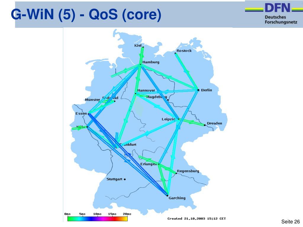G-WiN (5) - QoS (core)