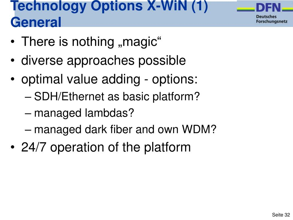 Technology Options X-WiN (1)