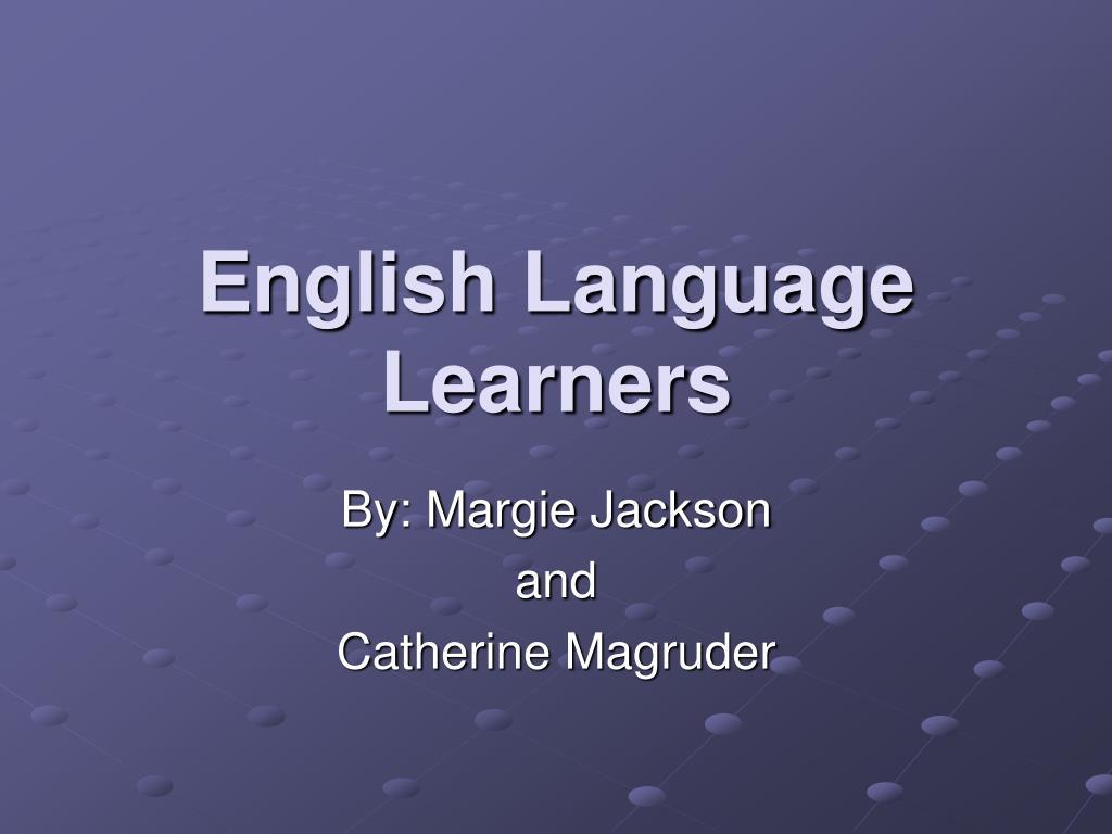 english language learners l.