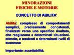 minorazioni fisiche e motorie23