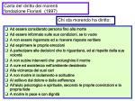 carta del diritto dei morenti fondazione floriani 1997