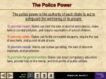 the police power