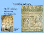 persian military