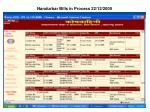 nandurbar bills in process 22 12 2005