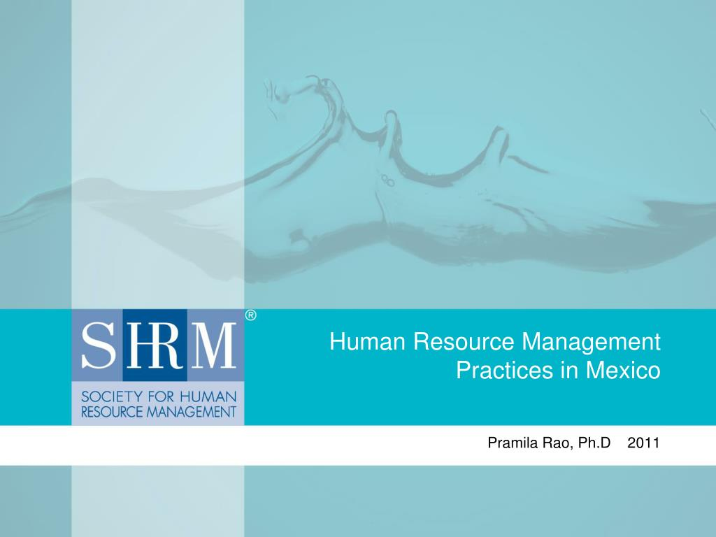 human resource management practices in mexico l.