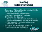 insuring elder involvement