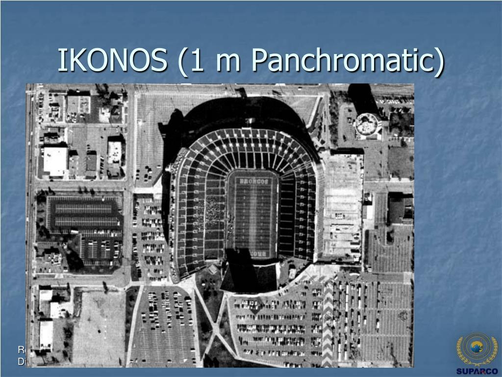 IKONOS (1 m Panchromatic)