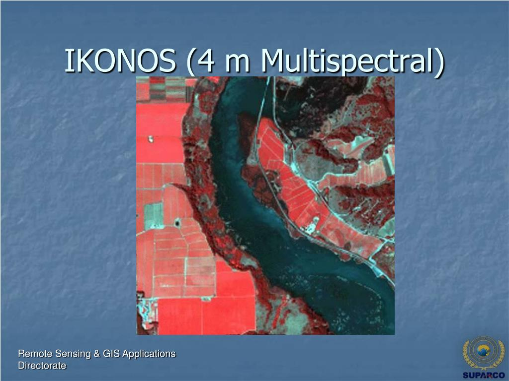 IKONOS (4 m Multispectral)