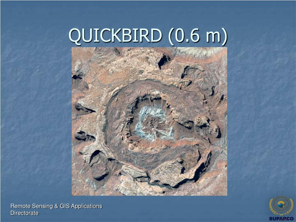 QUICKBIRD (0.6 m)