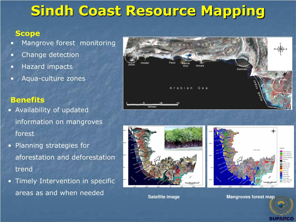 Sindh Coast Resource Mapping