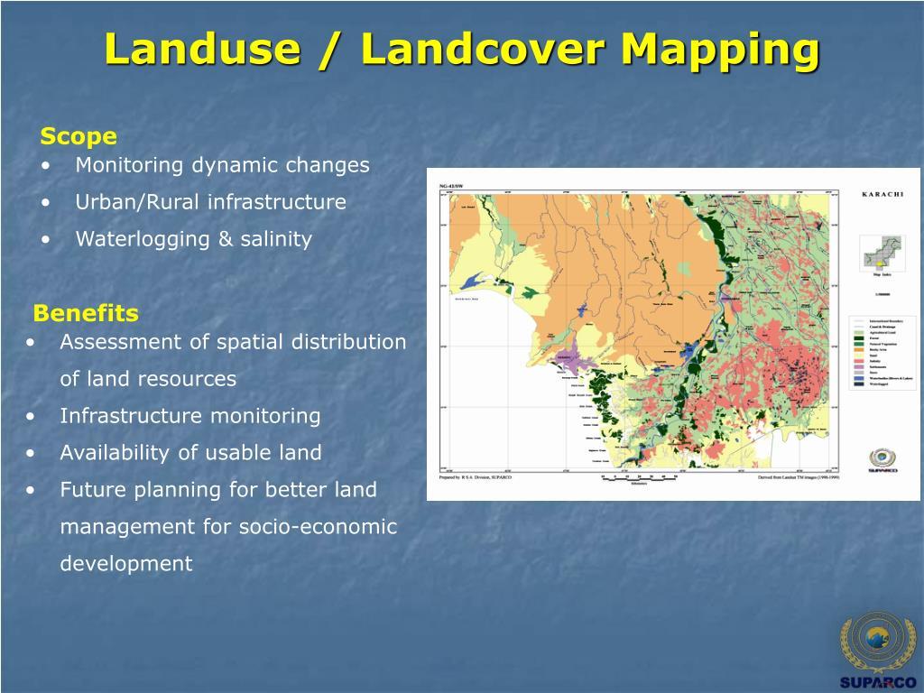 Landuse / Landcover Mapping