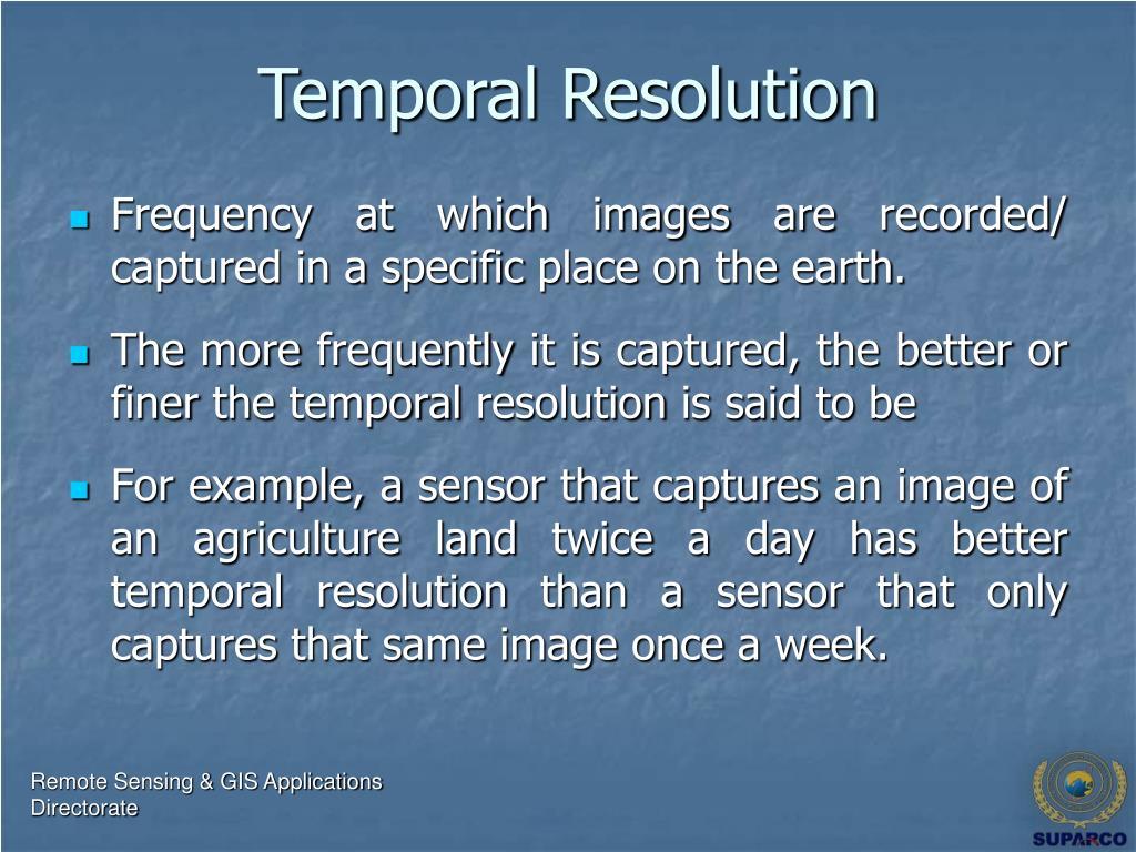 Temporal Resolution