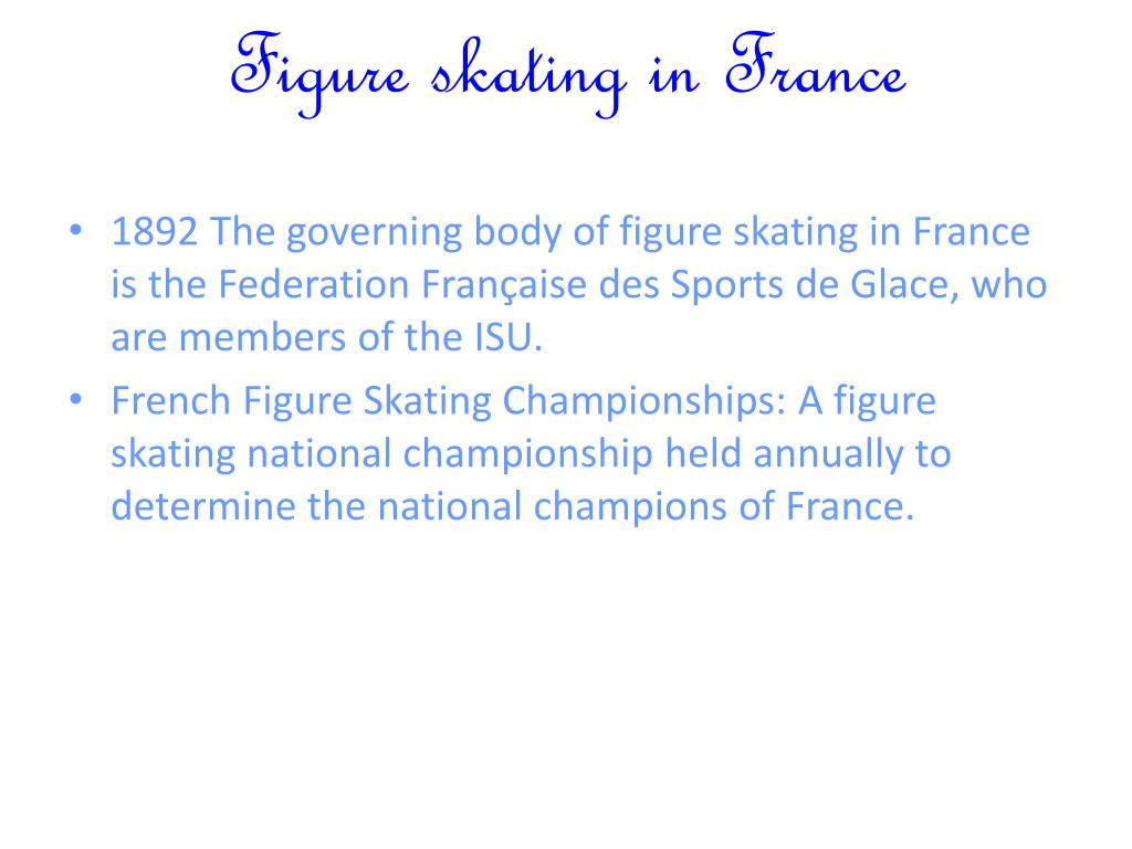 Figure skating in France