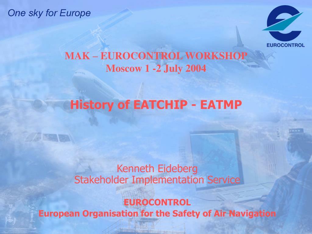 mak eurocontrol workshop moscow 1 2 july 2004 l.