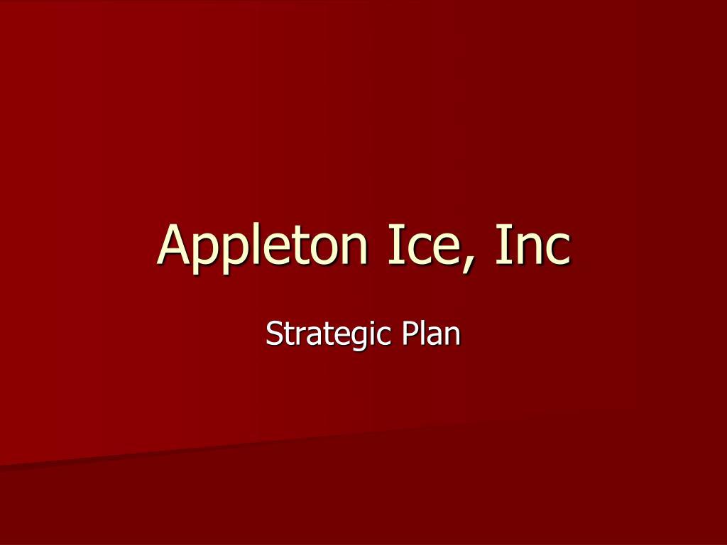 appleton ice inc l.