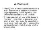 a continuum