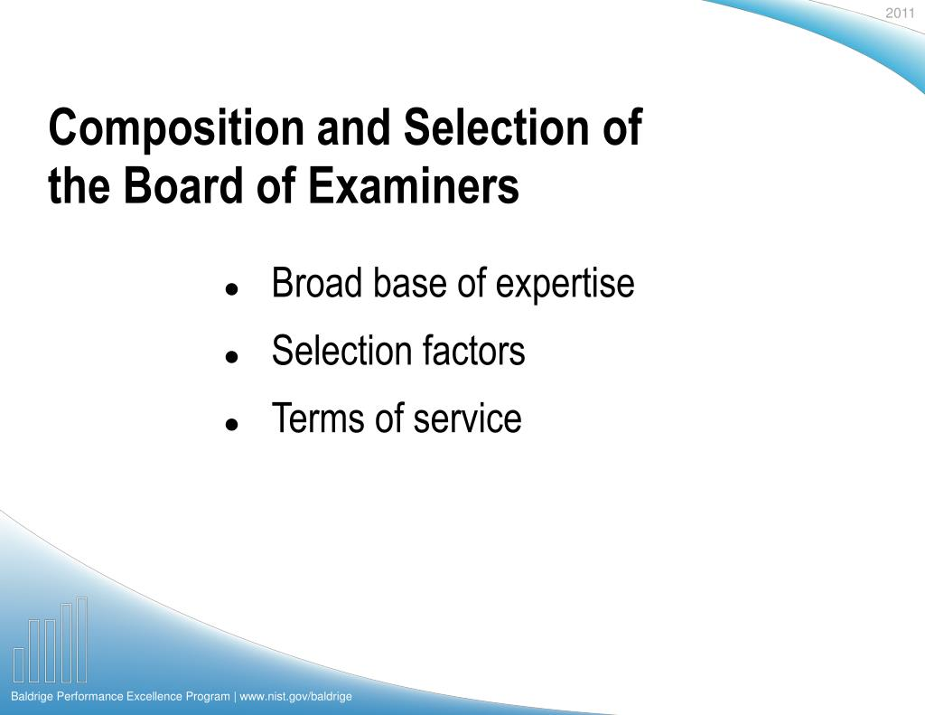 Composition and Selection of