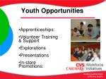 youth opportunities