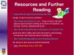 resources and further reading