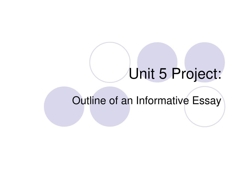 unit 5 project l.