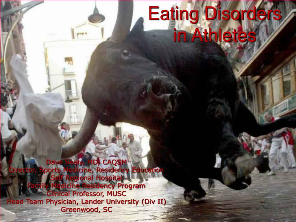 eating disorders in athletes l.