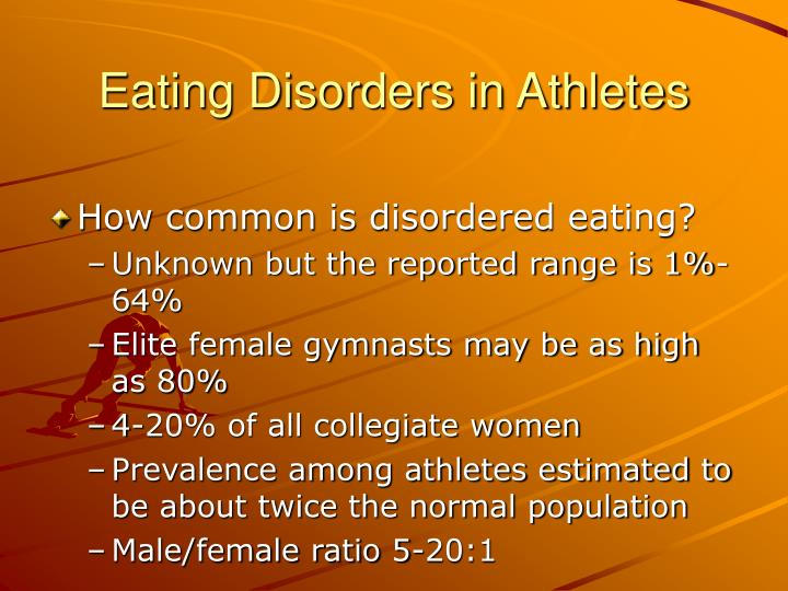 Eating disorders in athletes3