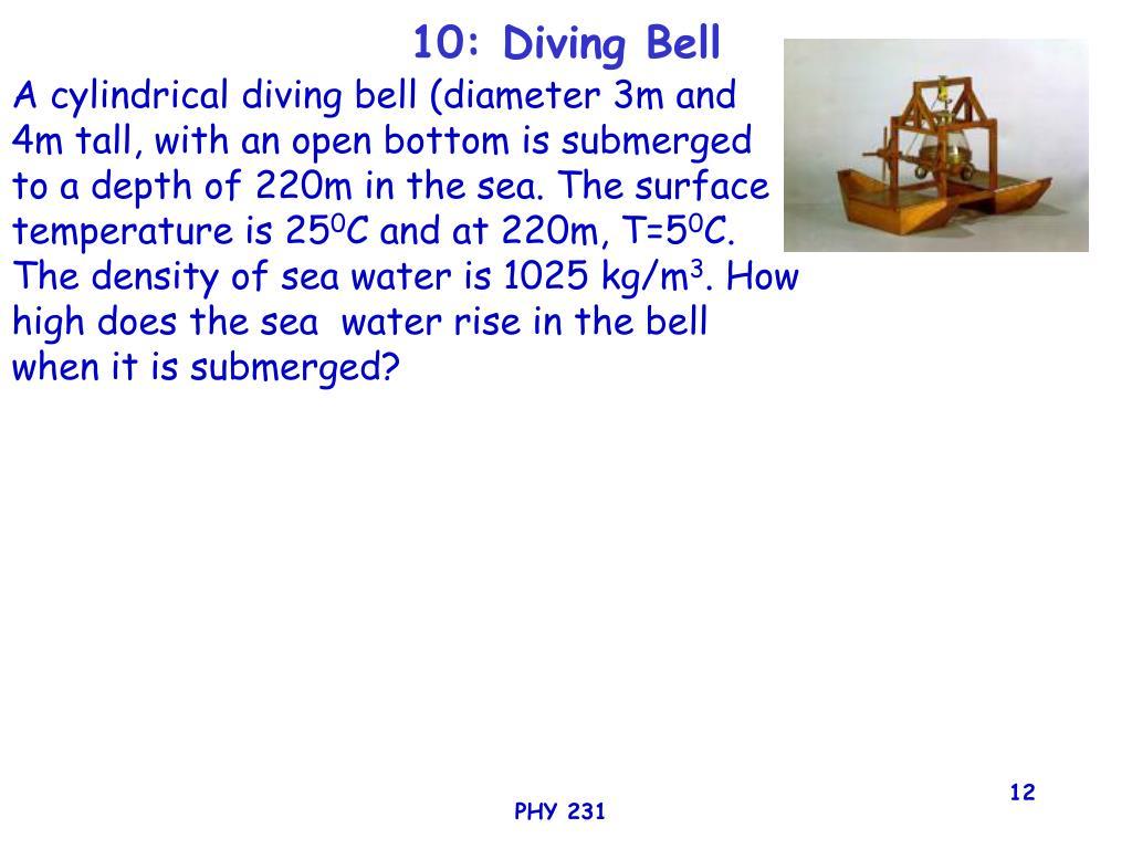 10: Diving Bell