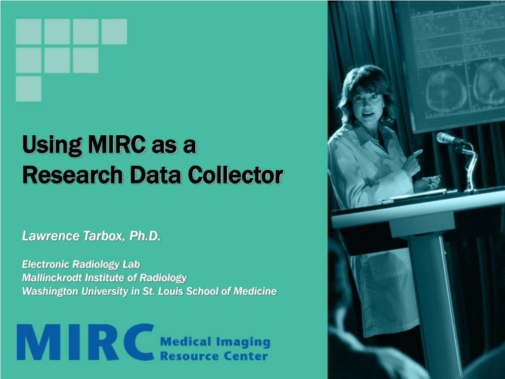 using mirc as a research data collector l.
