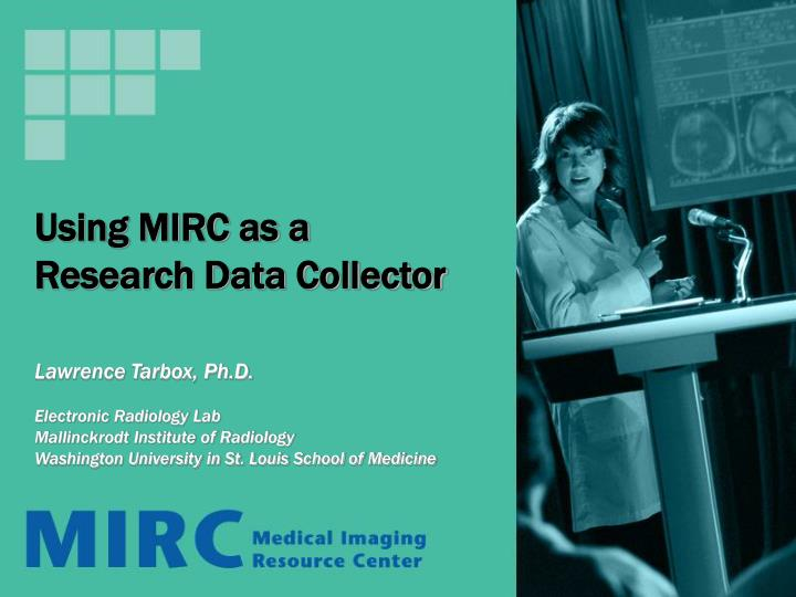 using mirc as a research data collector n.