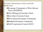 economic integration in africa and the middle east