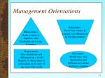 management orientations