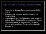 4 borneo states meeting november 1961