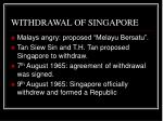 withdrawal of singapore41