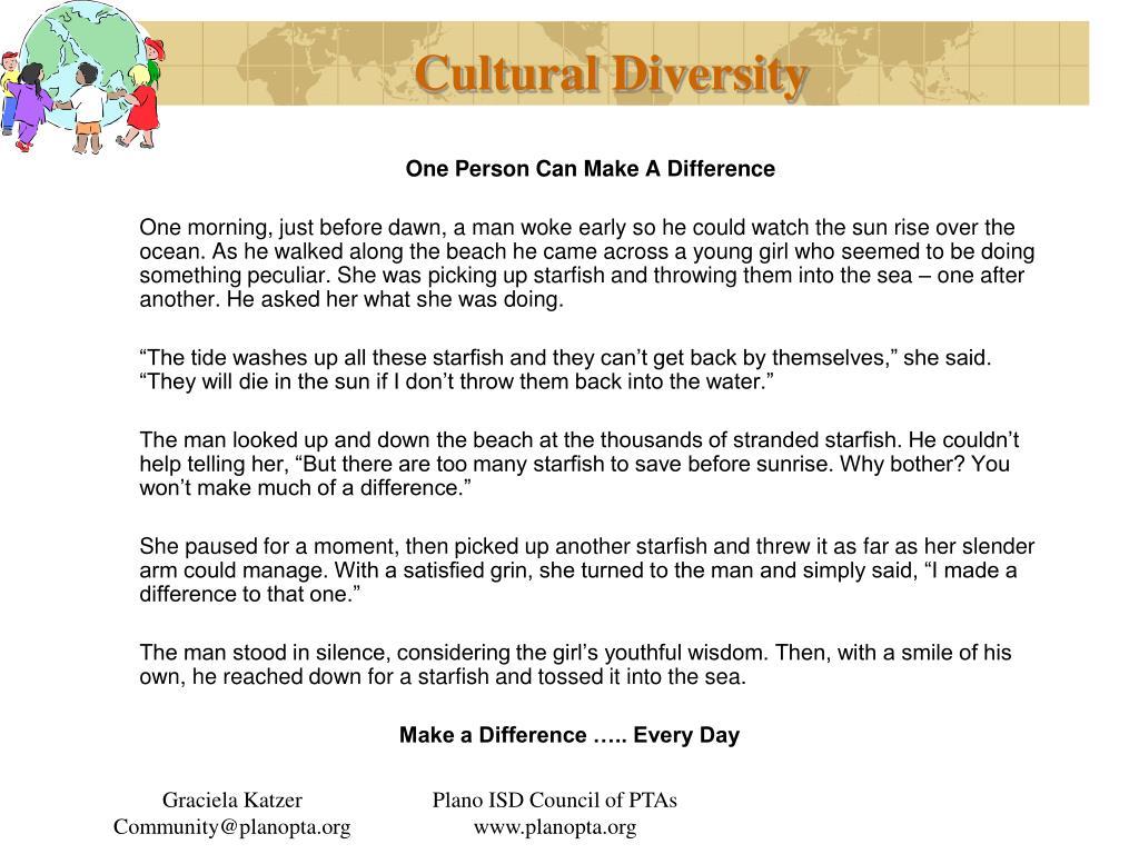 cultural diversity l.