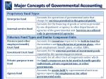 major concepts of governmental accounting10