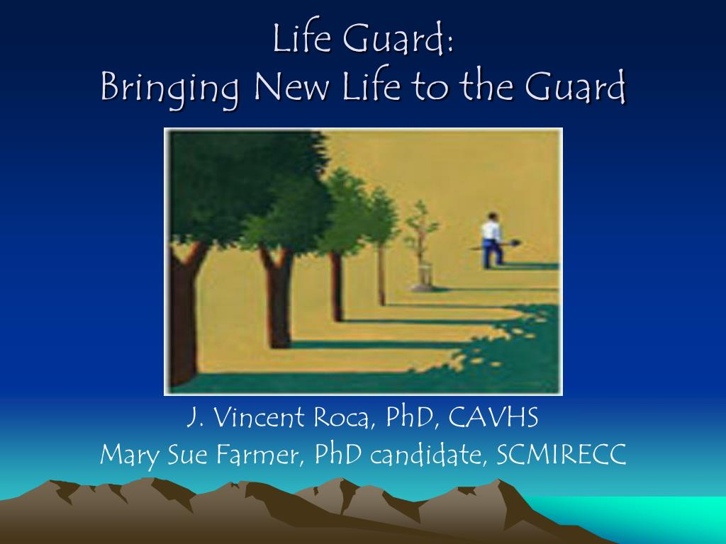life guard bringing new life to the guard l.