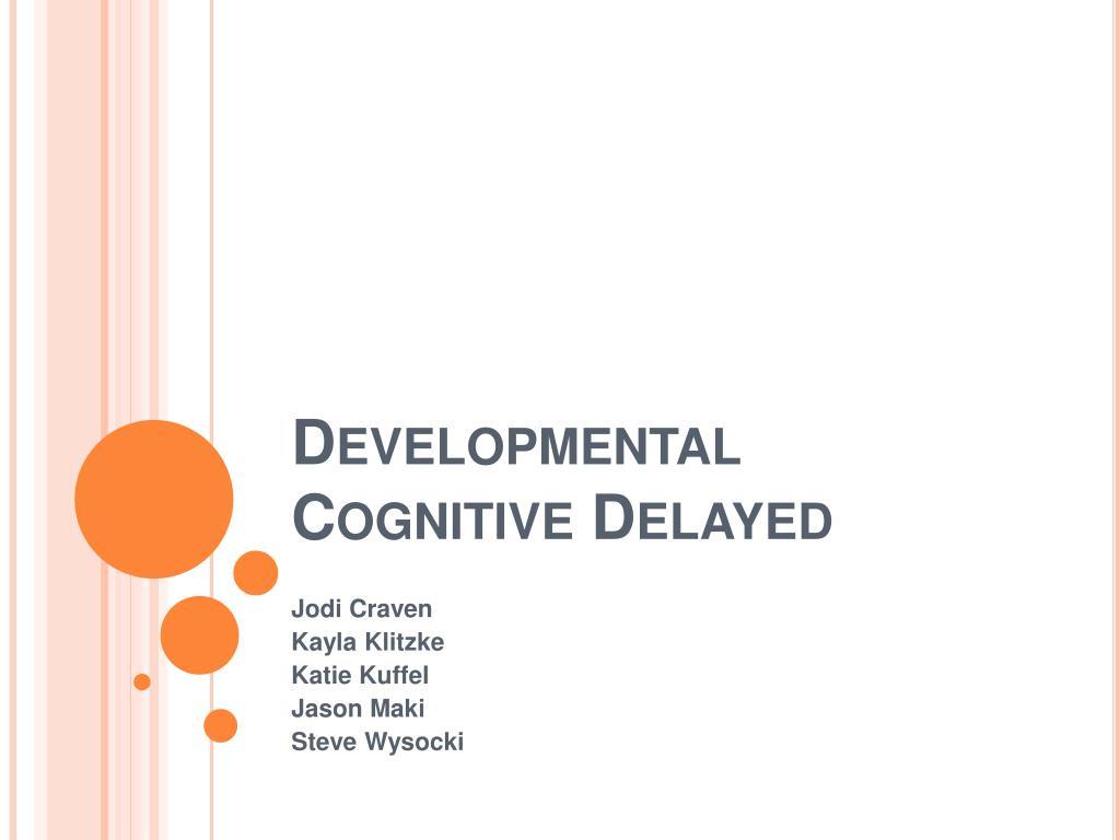 developmental cognitive delayed l.