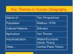 key themes in human geography4