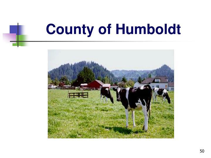 County of Humboldt