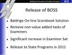 release of boss