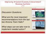 improving arizona s economy government revenue systems4