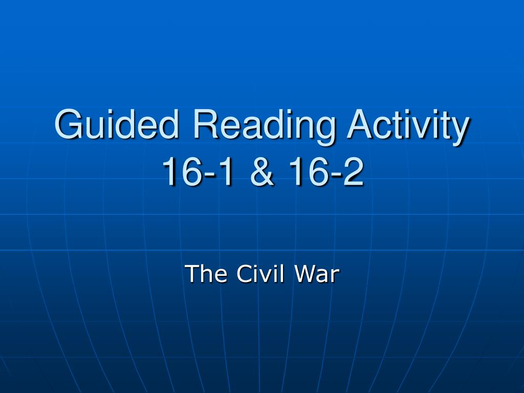 guided reading activity 16 1 16 2 l.