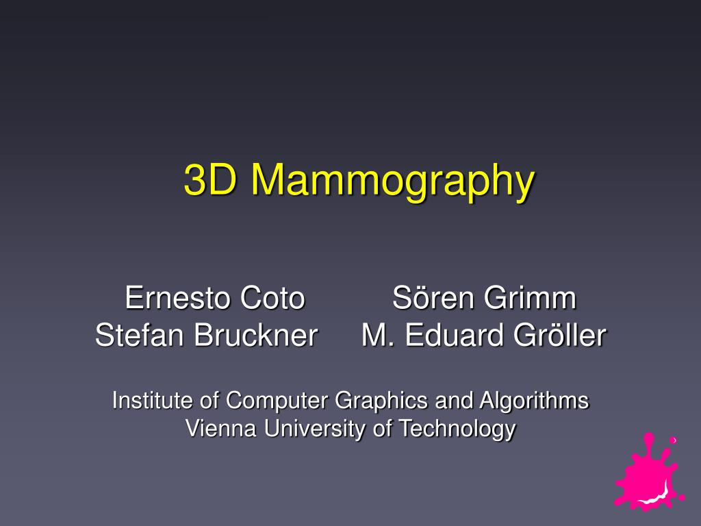 3d mammography l.