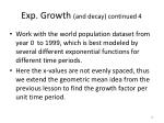exp growth and decay continued 4
