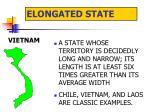 elongated state