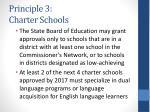 principle 3 charter schools14