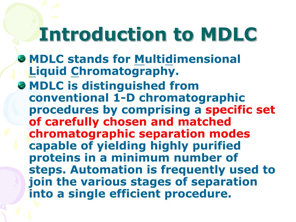 Introduction to MDLC